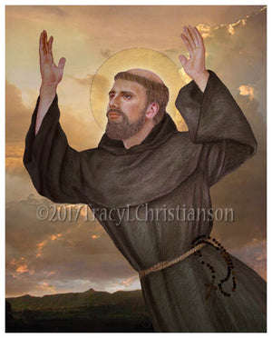 St. Joseph of Cupertino Print