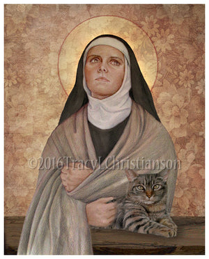 St. Julian of Norwich Print