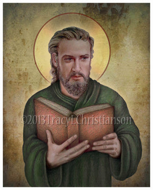 St. Luke the Evangelist Print