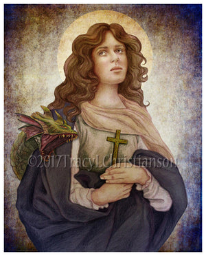 St. Margaret of Antioch Print
