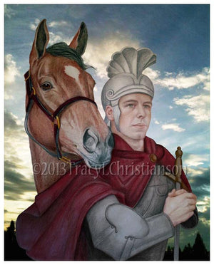 St. Martin of Tours Print