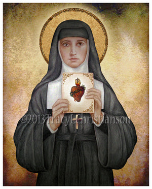 St. Margaret Mary Alacoque Print