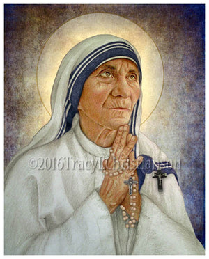St. Mother Teresa of Calcutta (B) Print