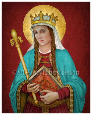 St. Margaret of Scotland Print