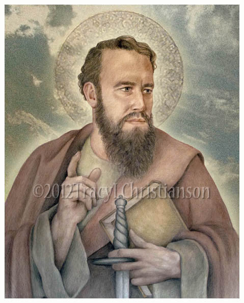 St. Paul the Apostle Print