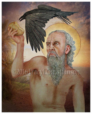 St. Paul the Hermit Print
