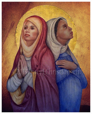St. Perpetua and St. Felicity Print