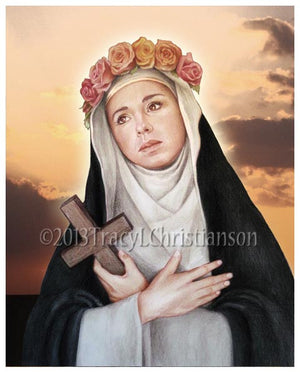 St. Rose of Lima Print