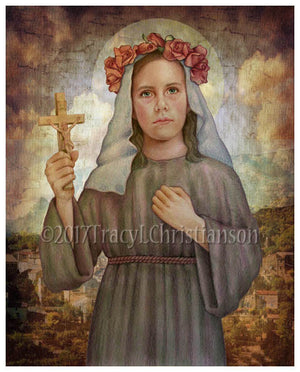 St. Rose of Viterbo Print