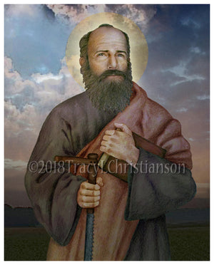 St. Simon the Apostle Print