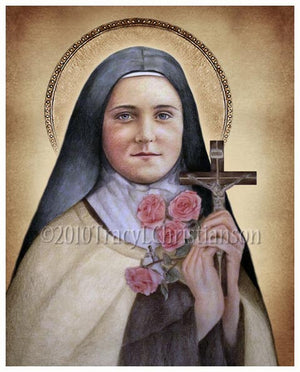 St. Therese of Lisieux (A) Print
