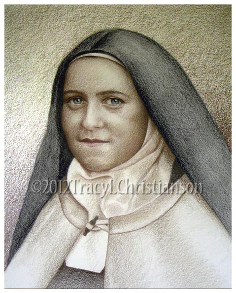 St. Therese of Lisieux (B) Print