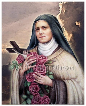 St. Therese of Lisieux (C) Print
