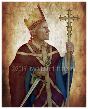 St. Thomas Becket Print