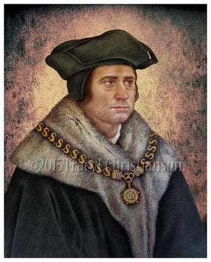 St. Thomas More Print