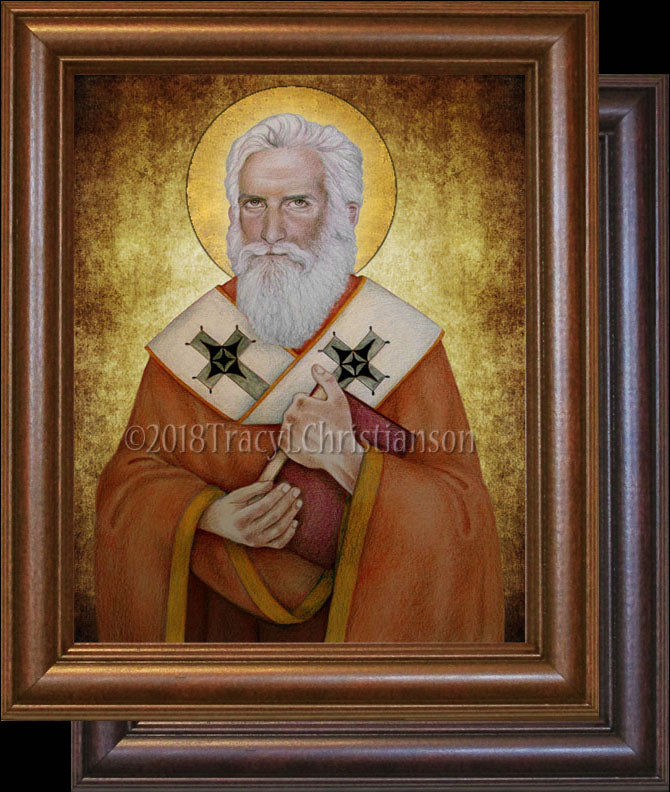 St. Alexander of Jerusalem Framed