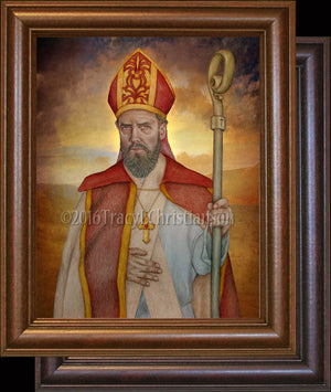 St. Anselm of Canterbury Framed