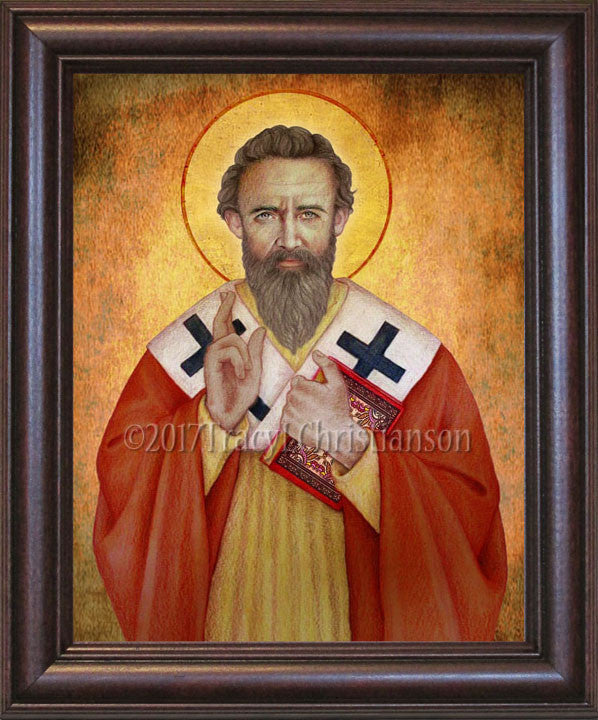 St. Basil the Great Framed