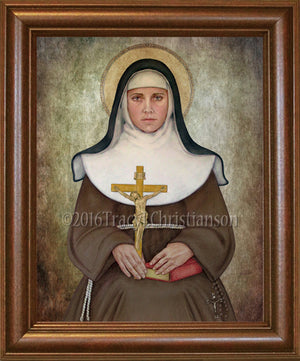 St. Catherine of Bologna Framed
