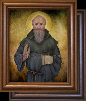 St. Columba Framed