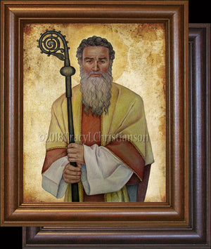 St. Cyprian of Carthage Framed