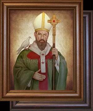 St. David of Wales Framed