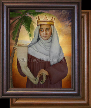 St. Deborah the Prophetess Framed Art