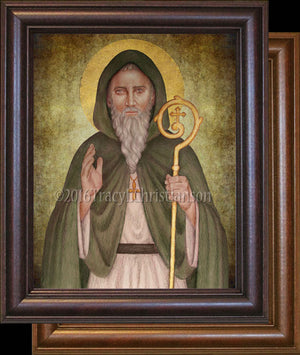 St. Declan of Ardmore Framed