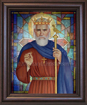 St. Edward the Confessor Framed