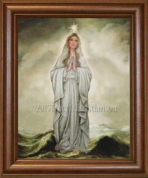 Our Lady, Star of the Sea Framed