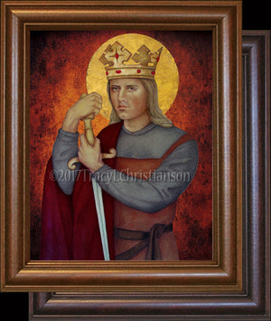 St. Eric IX, King of Sweden Framed