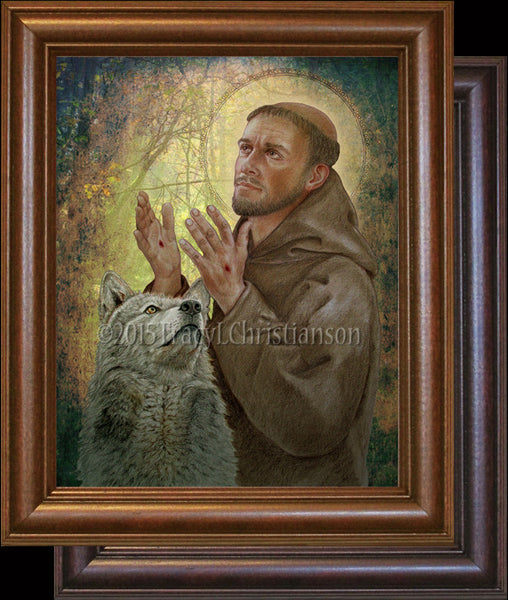 St. Francis of Assisi (B) Framed