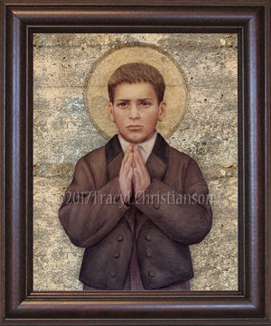 St. Francisco Marto Framed