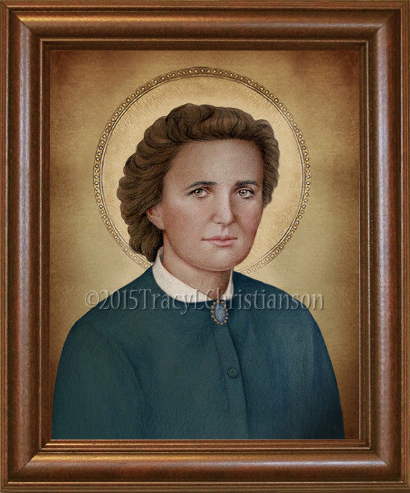 St. Gianna Molla (B) Framed