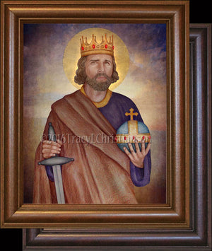 St. King  Henry II Framed