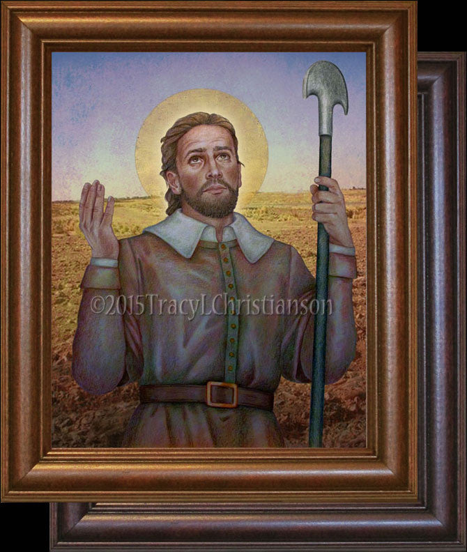 St. Isidore the Farmer Framed