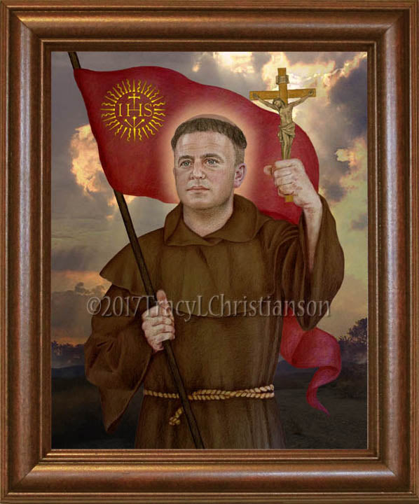 St. John of Capistrano Framed