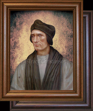 St. John Fisher Framed