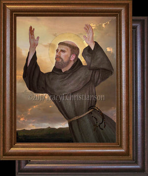 St. Joseph of Cupertino Framed