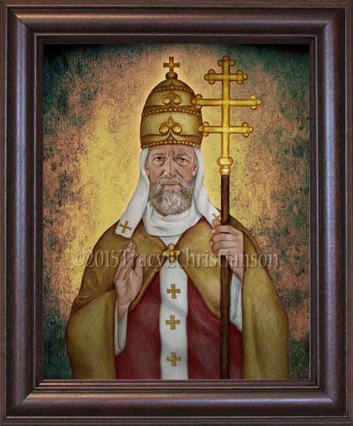 St Leo The Great Framed Portraits Of Saints