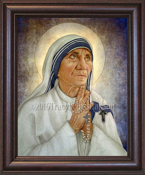 St. Mother Teresa of Calcutta (B) Framed