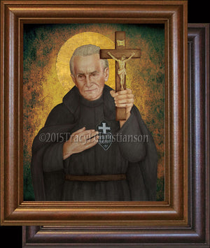 St. Paul of the Cross Framed