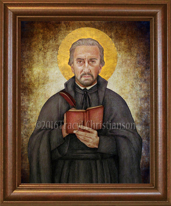 St. Peter Canisius  Framed