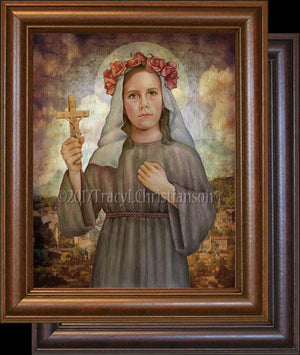 St. Rose of Viterbo Framed