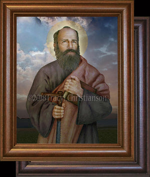 St. Simon the Apostle Framed