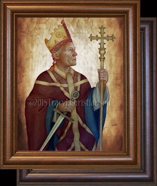 St Thomas Becket Framed Portraits Of Saints
