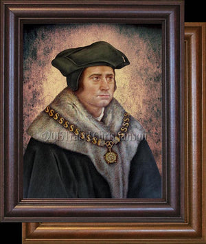 St. Thomas More Framed