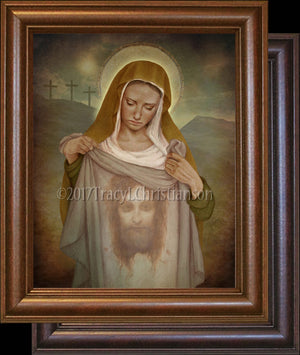 St. Veronica Framed