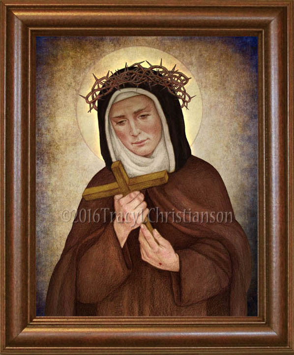 St. Veronica Giuliani Framed