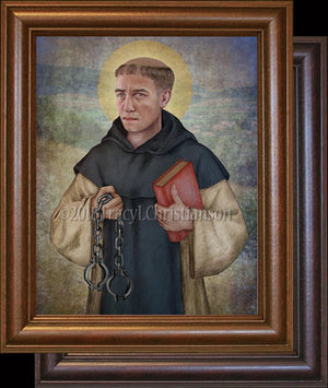 St. Leonard of Noblac Framed